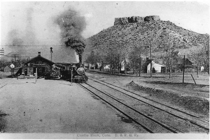 [Denver and Rio Grande Railroad Depot, Castle Rock, Colorado]
